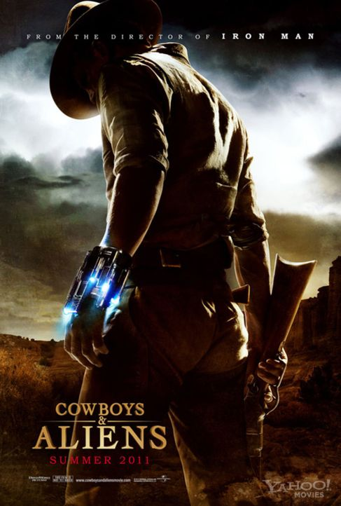 COWBOYS & ALIENS - Plakatmotiv - Bildquelle: (2011) DREAMWORKS II DISTRIBUTION CO., LLC and UNIVERSAL STUDIOS.