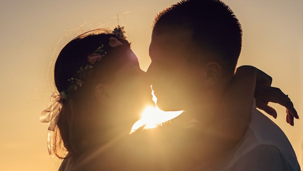 Ein Heiratsantrag zum Valentinstag