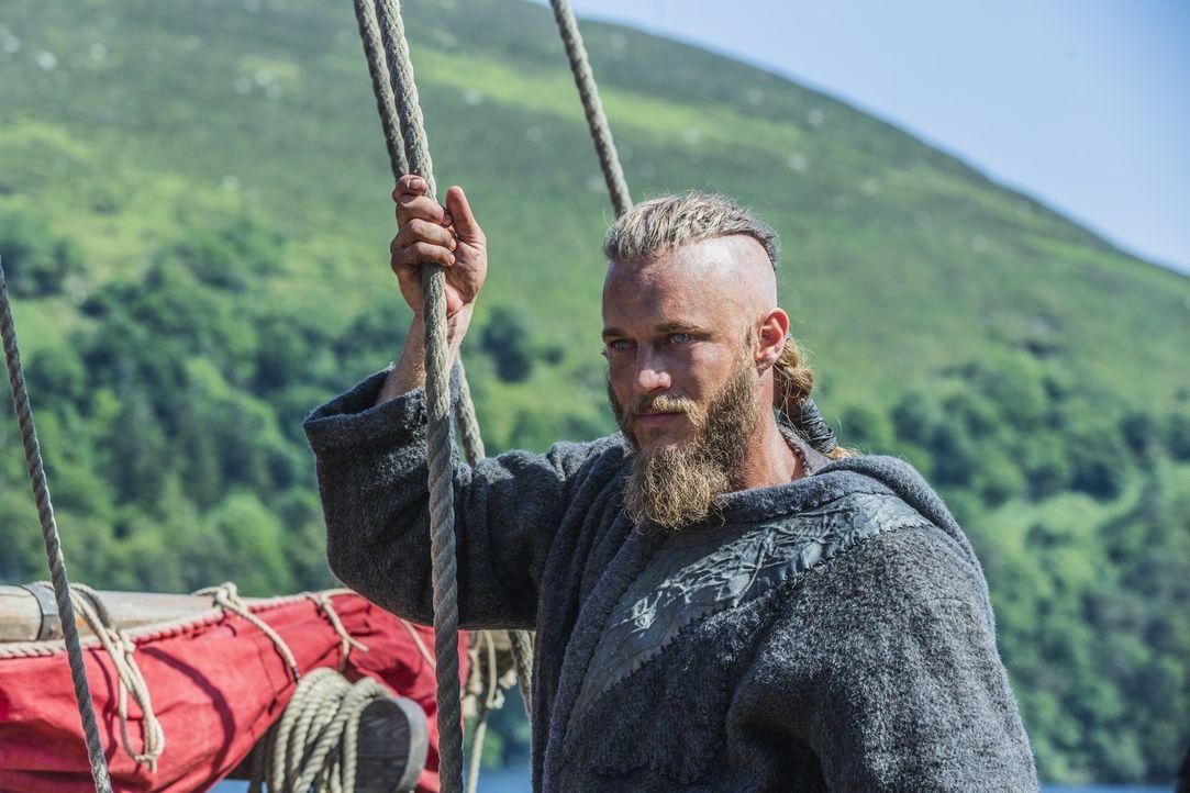 Die Verhandlungen von Ragnar (Travis Fimmel) mit Jarl Borg sind gescheitert - der große Kampf steht bevor ... - Bildquelle: 2013 TM TELEVISION PRODUCTIONS LIMITED/T5 VIKINGS PRODUCTIONS INC. ALL RIGHTS RESERVED.