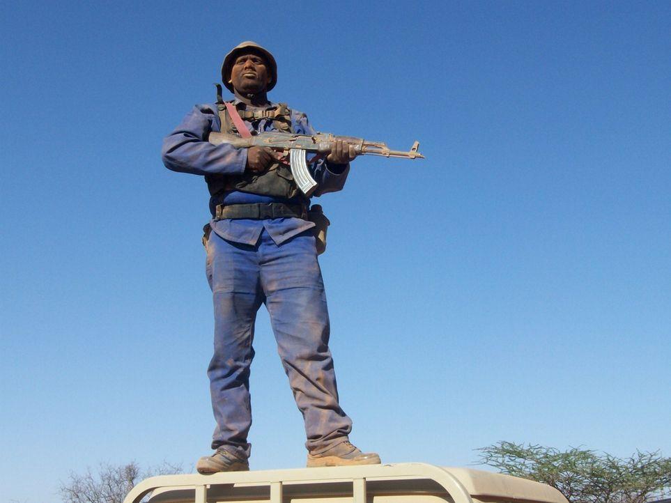 Als die somalischen Behörden nicht mehr wissen, wie sie gegen die Piraten in ihrem Land vorgehen sollen, beauftragen sie südafrikanische Söldner mit... - Bildquelle: Sam Kaunda Eyeline Entertainment