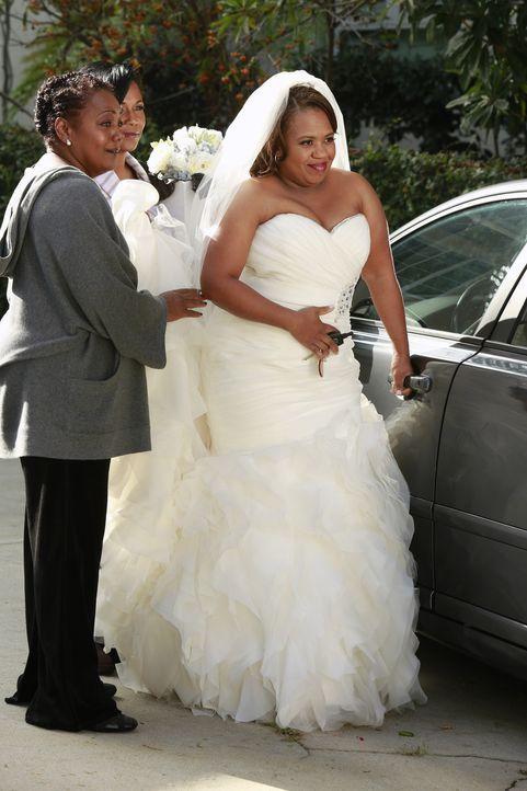 Ihr großer Tag steht bevor: Miranda (Chandra Wilson, r.) ... - Bildquelle: ABC Studios