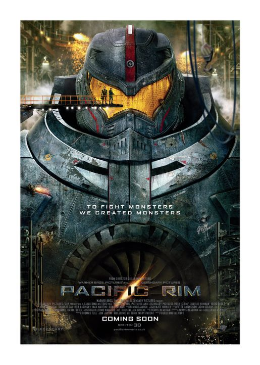 PACIFIC RIM - Plakatmotiv - Bildquelle: 2013 Warner Bros. Entertainment Inc. and Legendary Pictures Funding, LLC