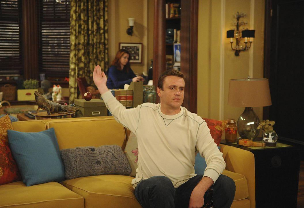 Marshall (Jason Segel, r.) und Lily (Alyson Hannigan, l.) erhalten Neuigkeiten, was auch eine Auswirkung auf die Freunde hat und sie dazu zwingt, ih... - Bildquelle: 20th Century Fox International Television
