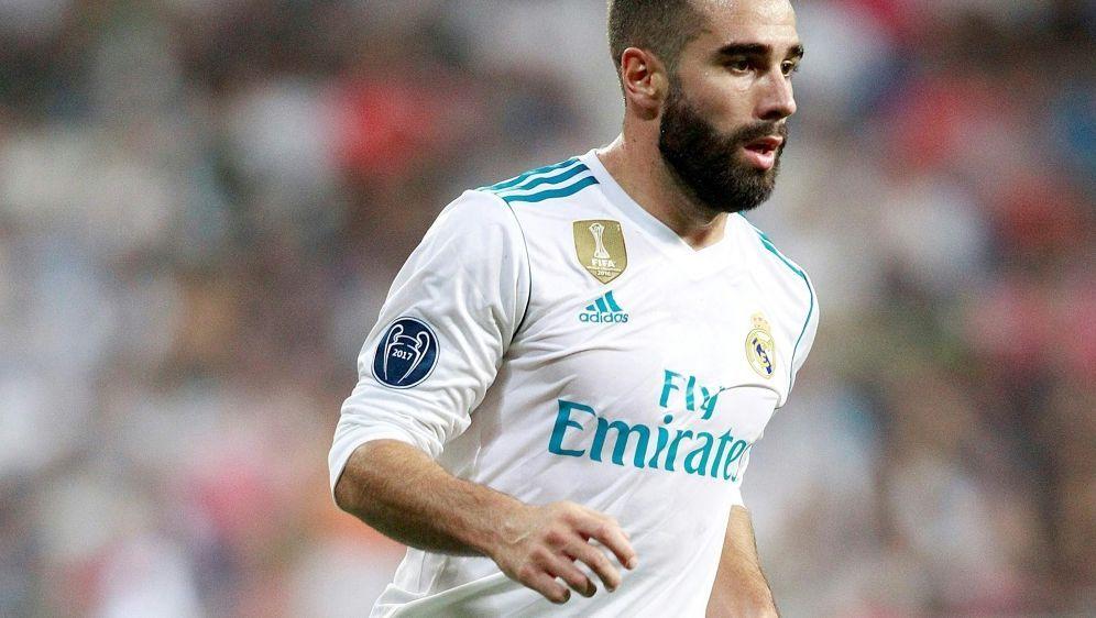 Dani Carvajal bleibt weiterhin bei Real Madrid - Bildquelle: PIXATHLONPIXATHLONSID