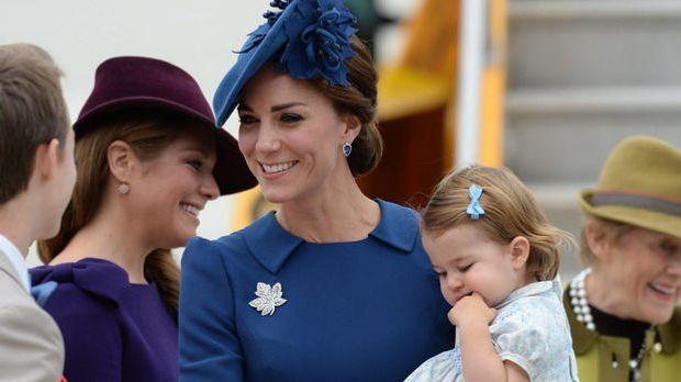 Kate Middleton ganz verzückt: Charlotte ist eine Pferdenärrin