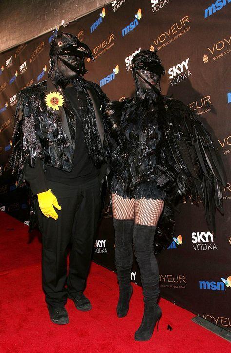 Stars an Halloween: Heidi Klum & Seal - Bildquelle: AFP