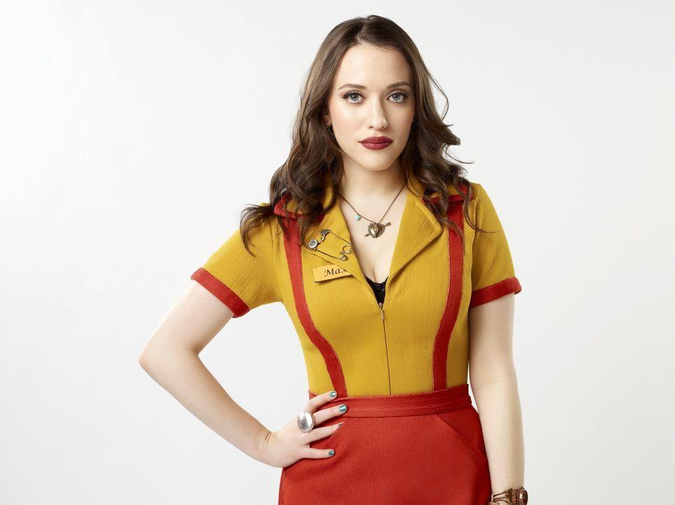 (3. Staffel) - Ist eine hart arbeitende junge Frau, die es bisher nicht leicht im Leben hatte: Max Black (Kat Dennings) ... - Bildquelle: Warner Brothers