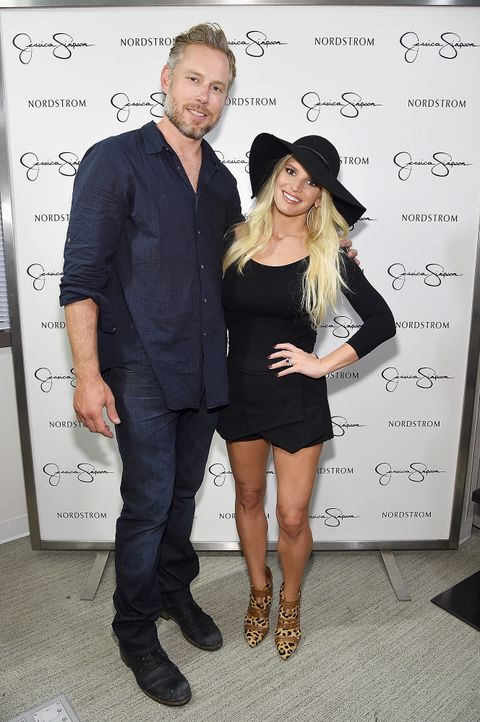 Jessica-Simpson-Eric-Johnson-140920-getty-AFP - Bildquelle: getty-AFP