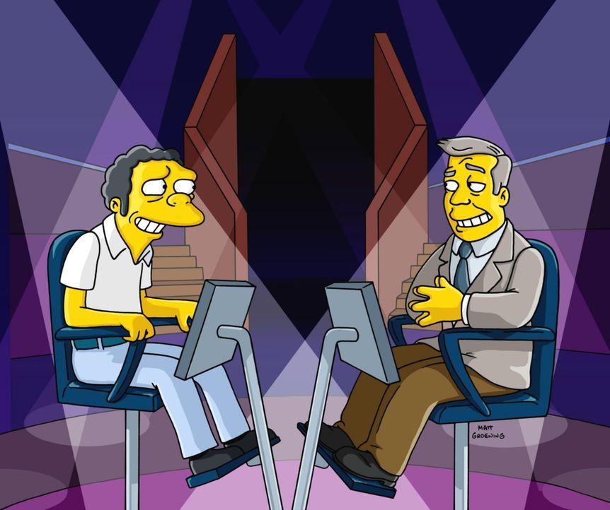 """Moe (l.) ist Gast bei """"Wer wird Millionär?"""" - Bildquelle: TM +   2000 Twentieth Century Fox Film Corporation. All Rights Reserved"""