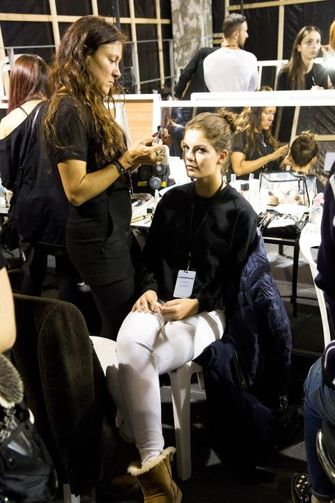 GNTM-Stf10-Epi14-Fashion-Week-Paris-101-Vanessa-ProSieben-Richard-Huebner - Bildquelle: ProSieben/Richard Huebner