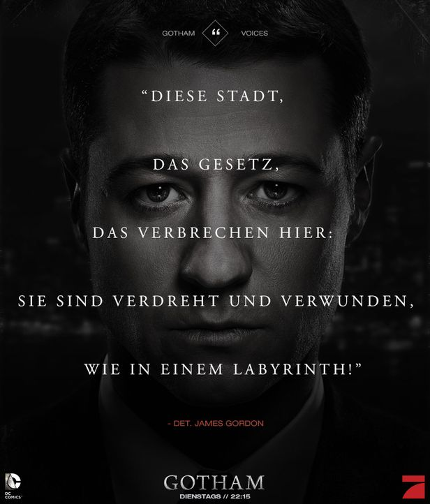 Gotham_Voices_Stimmen_der_Stadt_Zitate_Sprueche_Serie (19) - Bildquelle: DC Comics / Warner Bros. Entertainment, Inc.