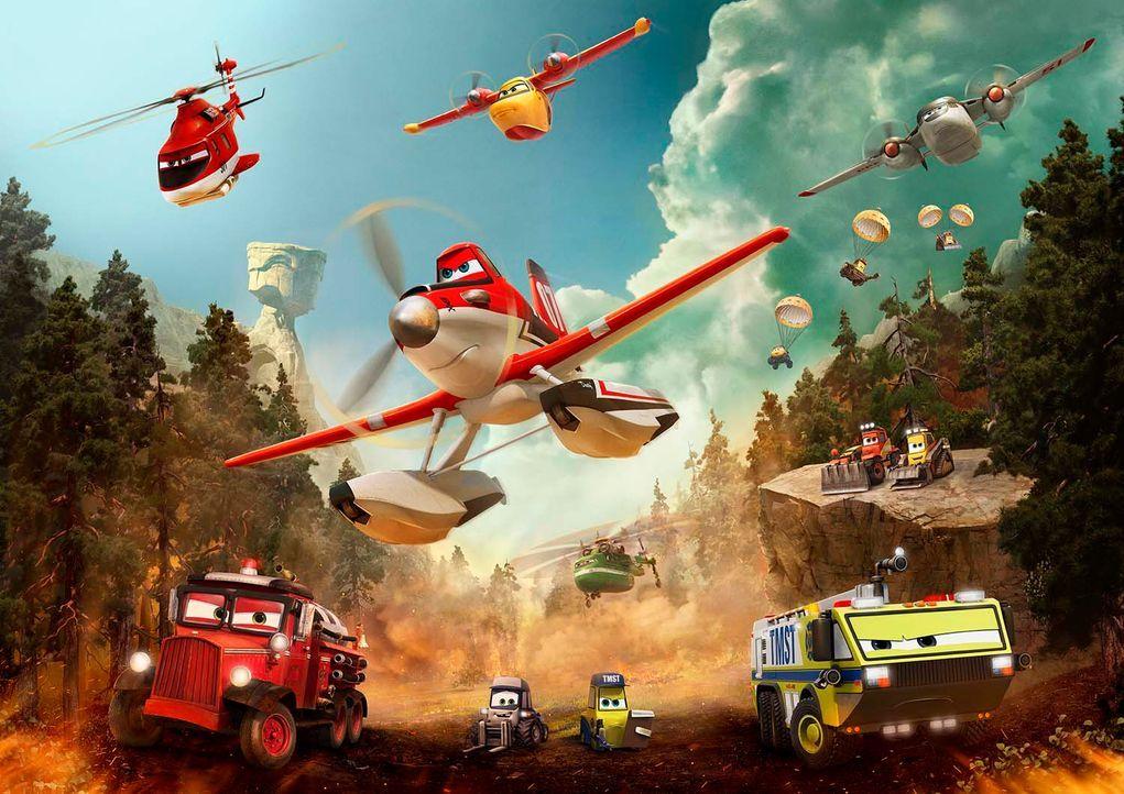 Planes-2-Immer-im-Einsatz-00-Walt-Disney - Bildquelle: 2014 Disney Enterprises, Inc. All Rights Reserved.