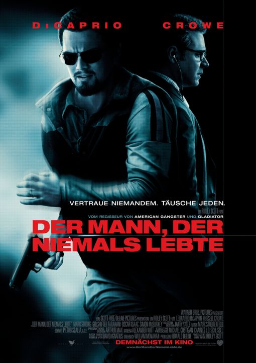 DER MANN, DER NIEMALS LEBTE - Plakatmotiv - Bildquelle: Warner Brothers