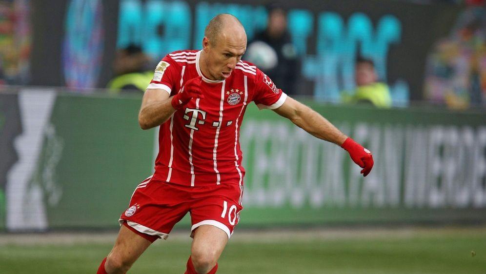 Arjen Robben fehlt dem FC Bayern in Istanbul - Bildquelle: pixathlonpixathlonSID