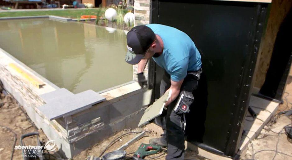 Zisterne selber bauen finest selber bauen holz with zisterne selber bauen great regenwasser fr - Innenpool bauen ...