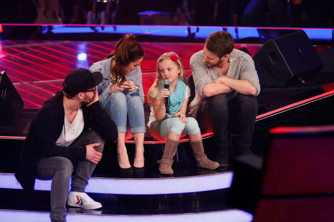 The-Voice-Kids-s03e01-danach-Linnea-08 - Bildquelle: SAT.1/ Richard Hübner