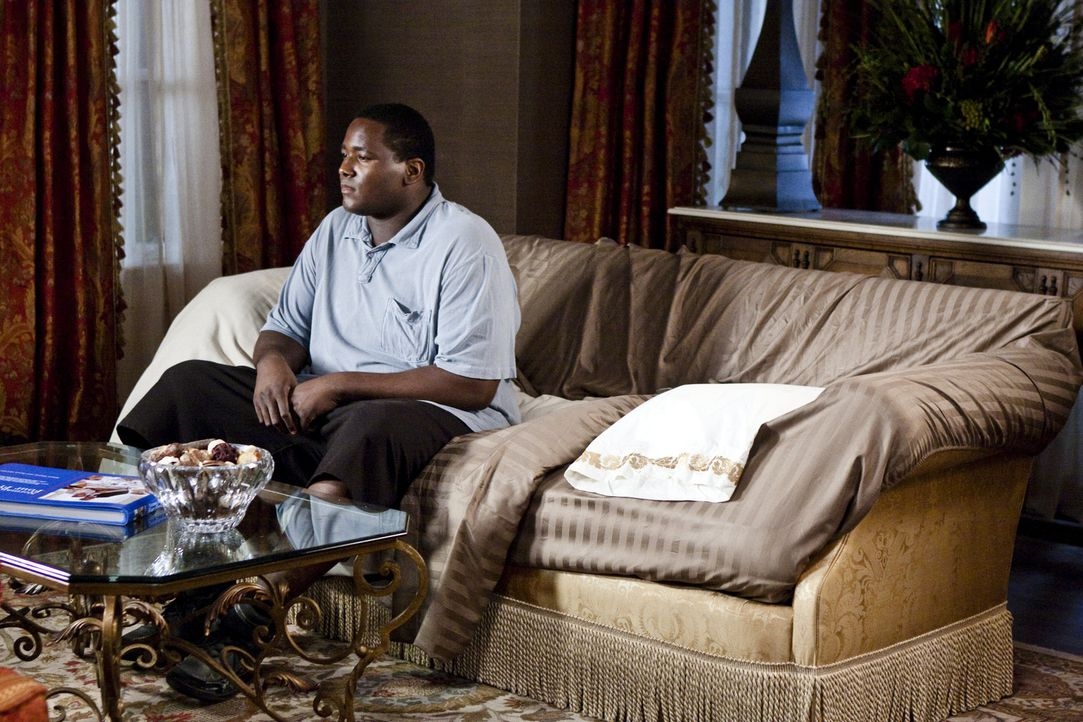 Wird er in seinem neuen Leben klarkommen? Michael (Quinton Aaron) ... - Bildquelle: Warner Brothers
