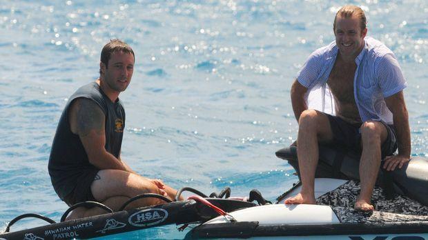 Der eigentlich zum Entspannen gedachte Angelausflug von Steve (Alex O'Loughli...