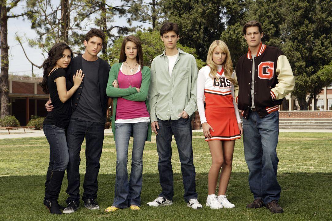 (1. Staffel) - Eine High School im Mittleren Westen der USA. Es geht um Sex, ungewollte Schwangerschaften und Beziehungen unter den Studenten: (v.l.... - Bildquelle: ABC Family