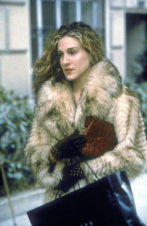 Carrie (Sarah Jessica Parker) hat ihre Probleme mit der Vorstellung von Sauberkeit, die ein männlicher New Yorker mit Mitte Zwanzig so hat ... - Bildquelle: Craig Blankenhorn 1998 HBO