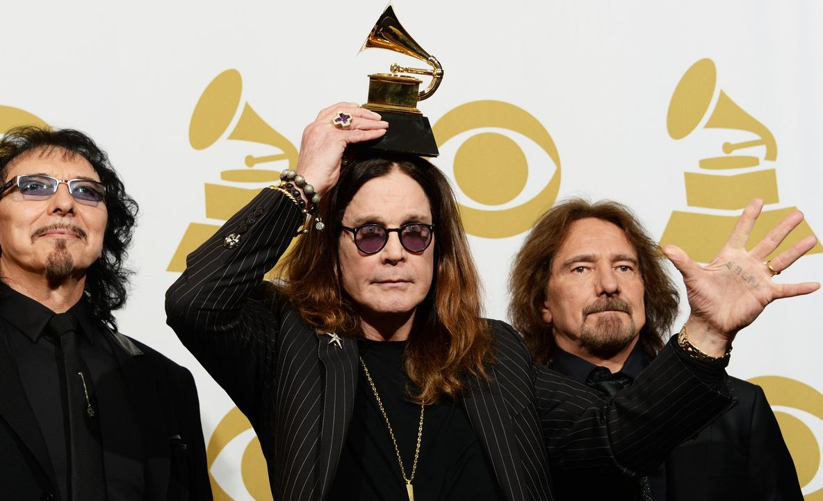 Grammy-Awards-Black-Sabbath-14-01-26-AFP - Bildquelle: AFP
