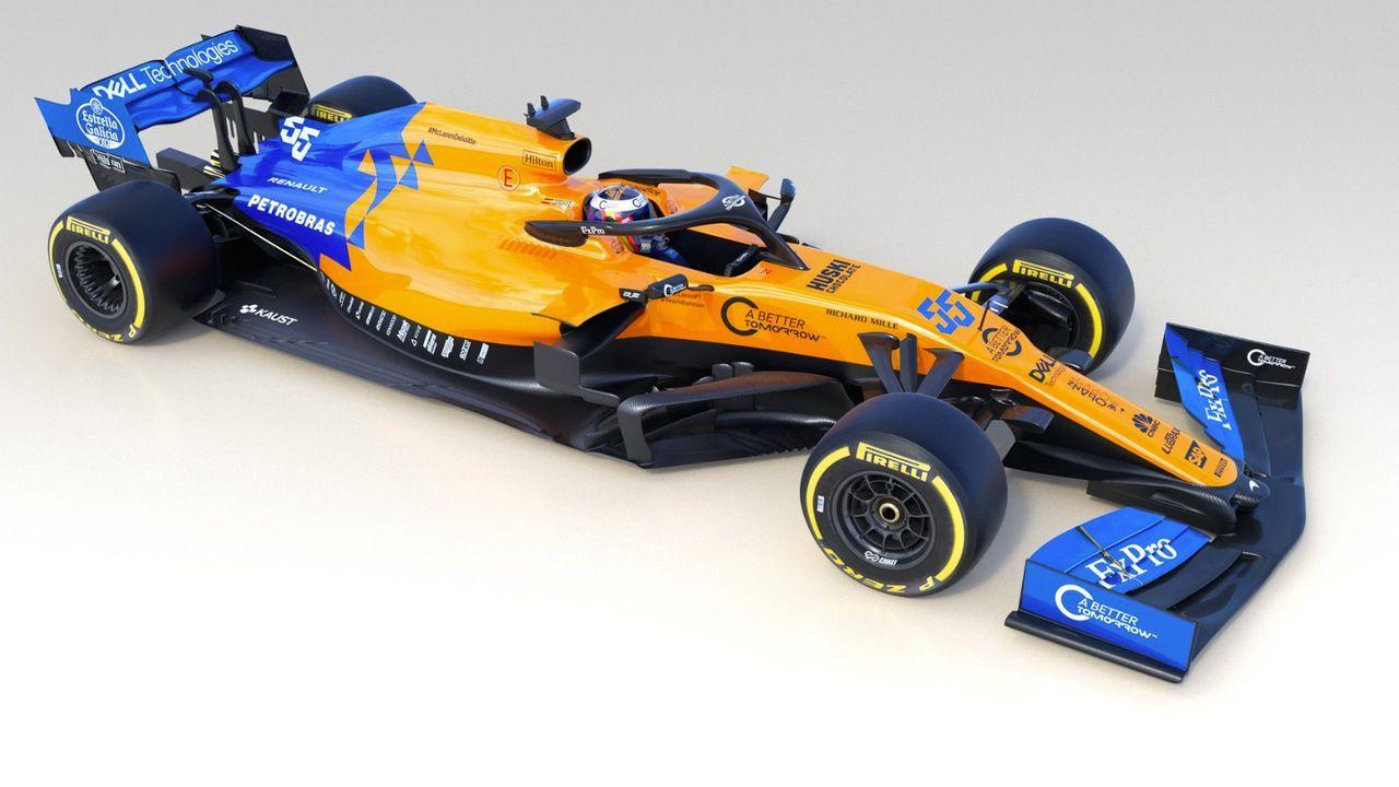 Formel-1-Autos 2019: McLaren F1 Team - Bildquelle: twitter/McLarenF1