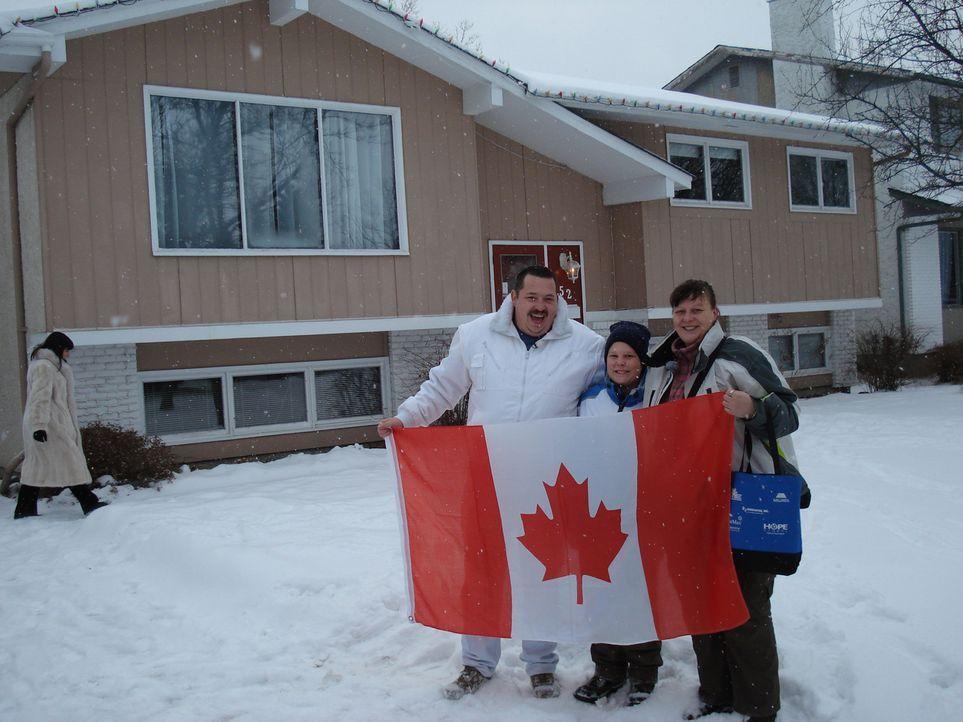 Jörg (37) und Conny Killge (43) wandern mit ihrem Sohn Michele-Maurice (9) von Höchst in Hessen nach Kanada aus - Bildquelle: kabel eins