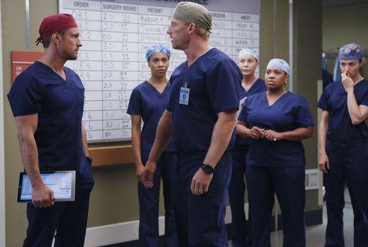 Grey's Anatomy - Während sich April Hoffnungen auf eine zweite Chance mit Jac...