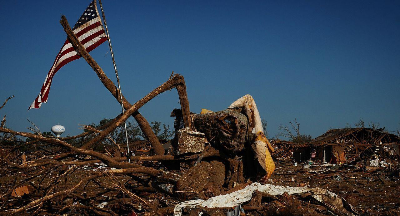 So schön ein dramatischer Sturm auch sein kann, so verheerend sind auch seine Auswirkungen ...