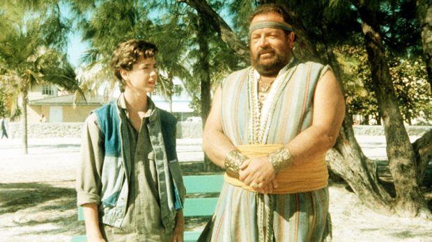 Um sein Taschengeld ein wenig aufzubessern, jobbt der junge Aladin (Luca Vena...