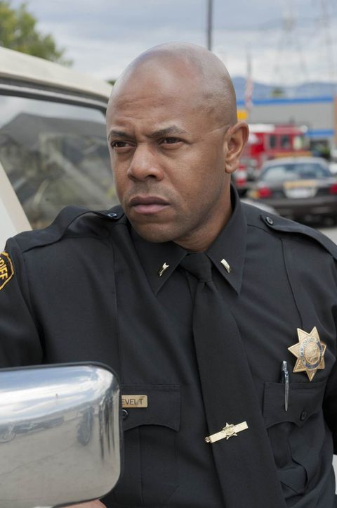 Sheriff Roosevelt (Rockmond Dunbar) wird nicht aufgeben, bis er etwas gegen die Sons of Anarchy in der Hand hat ... - Bildquelle: 2011 Twentieth Century Fox Film Corporation and Bluebush Productions, LLC. All rights reserved.