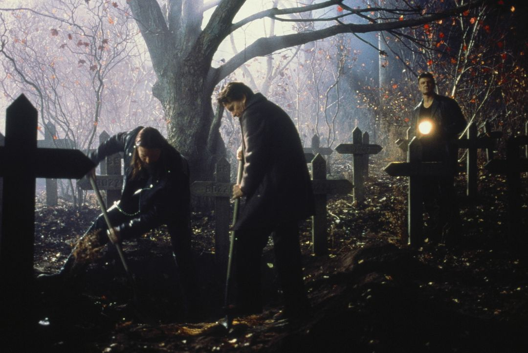 Schon bald muss Nathan (Michael Douglas, M.) erkennen, dass mit Patrick Koster (Sean Bean, r.) nicht zu spaßen ist ... - Bildquelle: 20th Century Fox Film Corporation