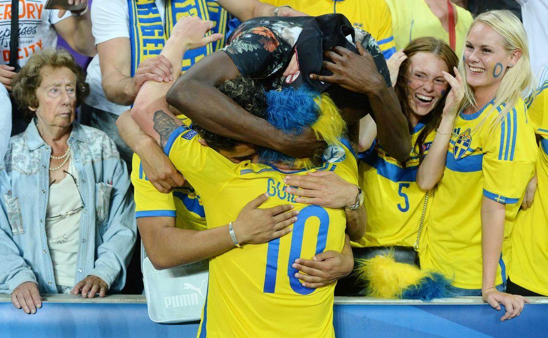 Fußball-Fan-Schweden-060615-AFP - Bildquelle: AFP