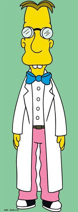 (15. Staffel) - Professor Dr. John Frink ist ein durchgeknallter Erfinder, der unter anderem den Hamburger Ohrwärmer erfand ... - Bildquelle: und TM Twentieth Century Fox Film Corporation - Alle Rechte vorbehalten