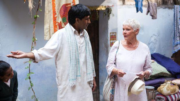 The Best Exotic Marigold Hotel - Ein Trip nach Indien wird für Evelyn (Judi D...