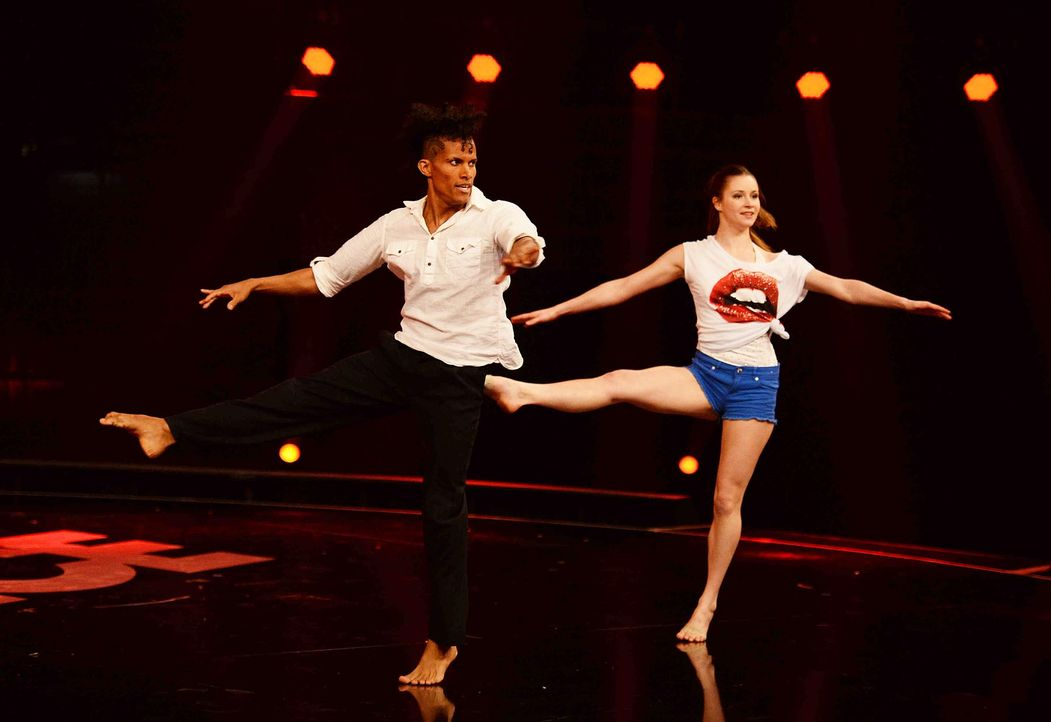 Got-To-Dance-Marie-Sophie-Paulo-Alberto-03-SAT1-ProSieben-Willi-Weber - Bildquelle: SAT.1/ProSieben/Willi Weber
