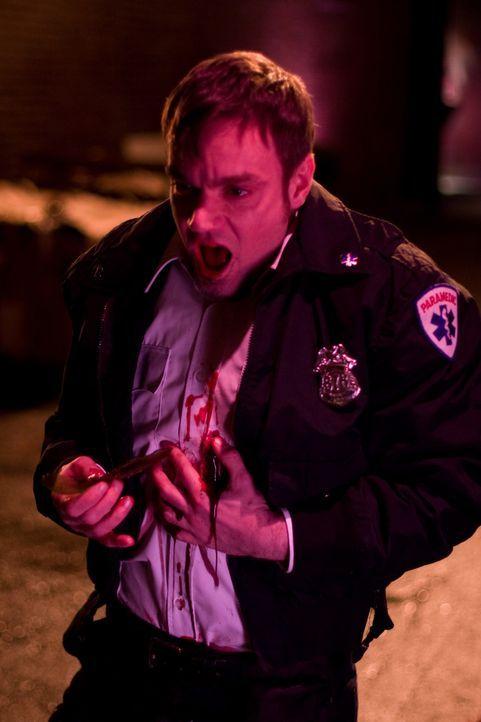 Ihn ereilt die gerechte Strafe: Kevin Stanovich (Jamie Harrold) ...