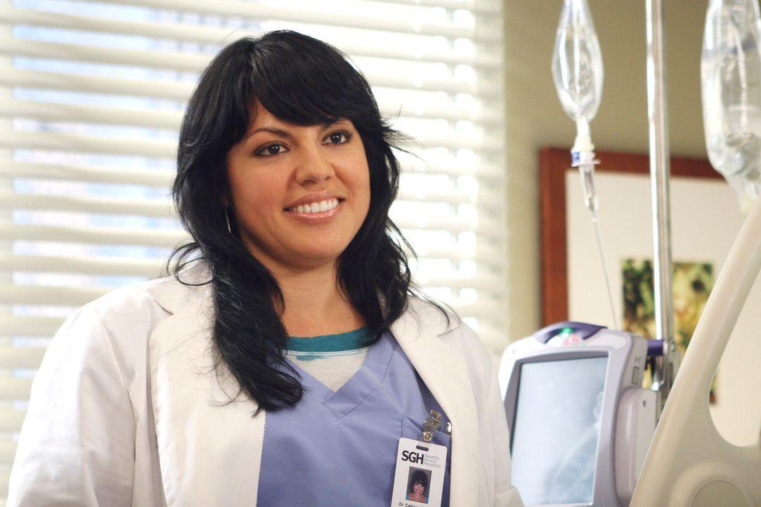 George bemerkt, dass er Callie (Sara Ramirez) immer noch sehr gerne mag ... - Bildquelle: Touchstone Television
