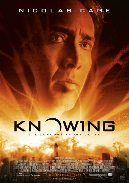 KNOWING - Plakatmotiv - Bildquelle: 2009 Summit Entertainment, LLC.  All Rights Reserved