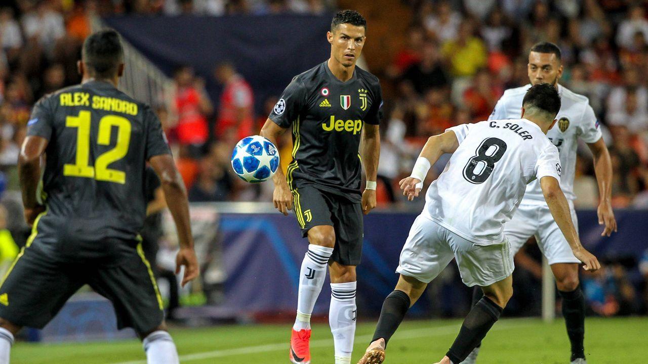 Cristiano Ronaldo sieht Rot - Bildquelle: imago/Action Plus