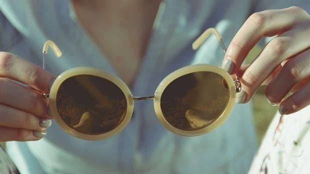 Sonnenbrille-Optik