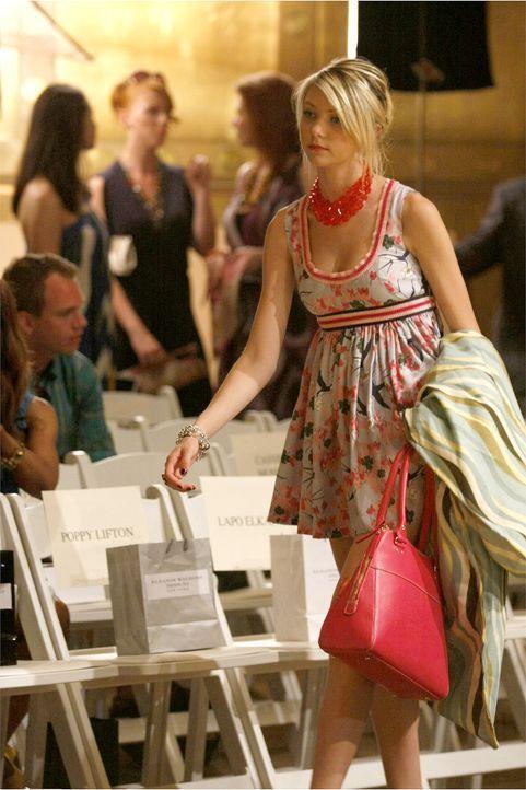 Blair tut alles, um Jenny (Taylor Momsen) zu sabotieren, indem sie die Models, die unter Jennys Verantwortung waren, nach Hause schickt. Jenny hat j... - Bildquelle: Warner Brothers