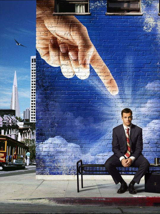 (1. Staffel) - Sein Leben verändert sich schlagartig: Der erfolgreiche Anwalt Eli Stone (Jonny Lee Miller) hat plötzlich Halluzinationen und glaubt... - Bildquelle: Disney - ABC International Television