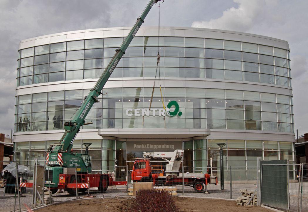 """Der Einkaufspark Centro in Oberhausen wächst: von 70.000 auf 87.000 Quadratmeter Shoppingfläche. """"Abenteuer Leben"""" blickt hinter die Kulissen der... - Bildquelle: kabel eins"""