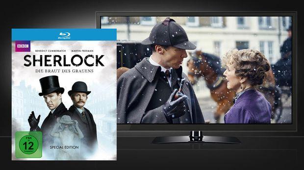 Sherlock Die Braut des Grauens - Blu-ray und Szene © Polyband