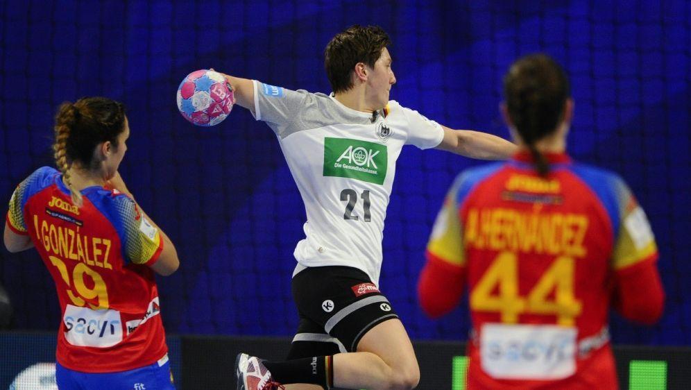 Mit 29:23 gewinnt das DHB-Team gegen Spanien - Bildquelle: AFPSIDJEAN-CHRISTOPHE VERHAEGEN