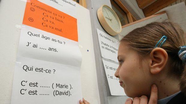 Fremdsprache Grundschule_dpa - Bildfunk