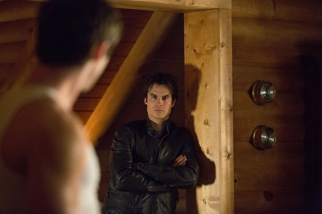 Damon Salvatore und Jeremy Gilbert - Bildquelle: Warner Bros. Entertainment Inc.