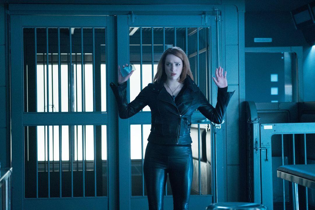 Bei einem Einbruchsversuch wird Jamie (Kristen Connolly) auf frischer Tat ertappt ...
