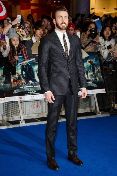 Captain-America-Premiere-London-Chris-Evans-14-03-20-Joe-WENN-com - Bildquelle: Joe/WENN.com